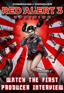 《红色警戒3世界大战》中文完美硬盘版