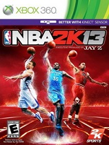 NBA 2K13中英文全区光盘版[XBOX360游戏]