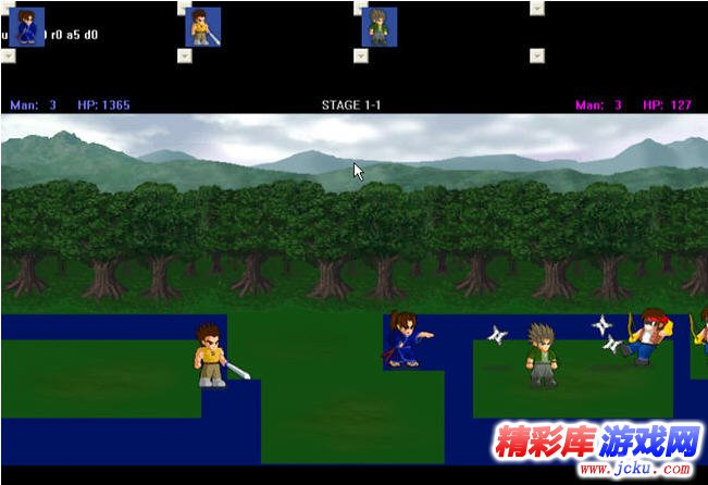 lf2小斗士游戏高清截图1