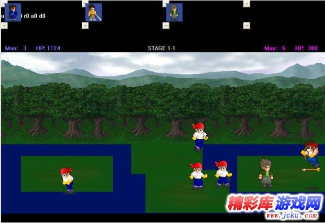lf2小斗士游戏高清截图2