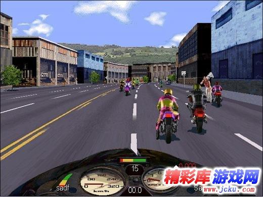 暴力摩托2008版游戏高清截图2