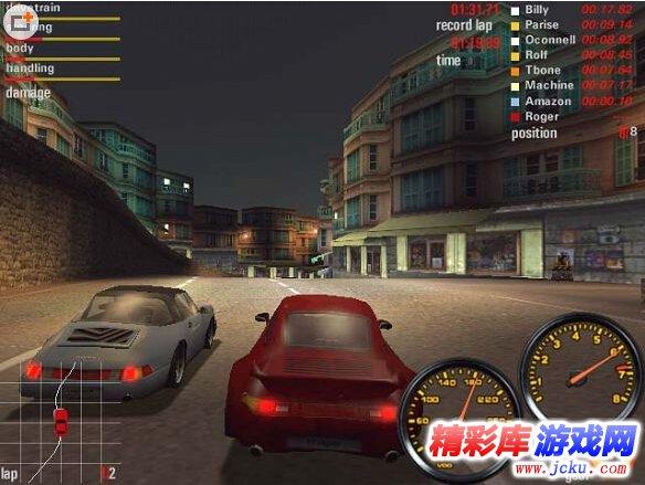 《极品飞车5》游戏高清截图3