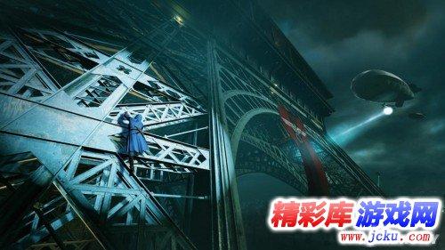 亚诺爬上埃菲尔铁塔打飞机《刺客信条:大革命》新演示游戏高清截图1