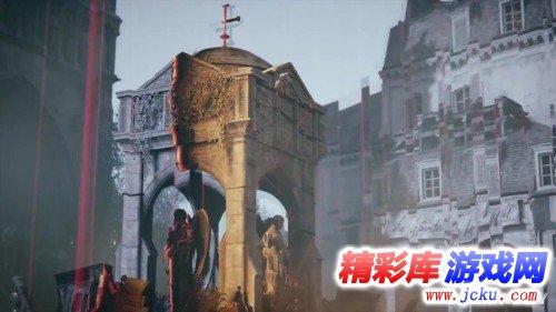 亚诺爬上埃菲尔铁塔打飞机《刺客信条:大革命》新演示游戏高清截图3