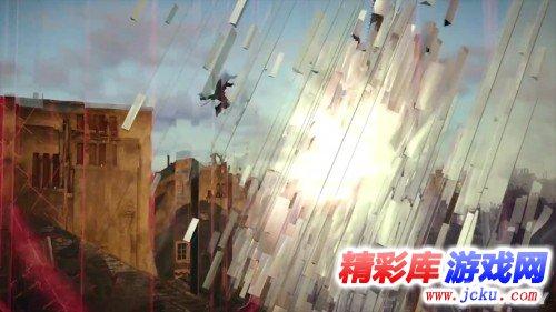亚诺爬上埃菲尔铁塔打飞机《刺客信条:大革命》新演示游戏高清截图4