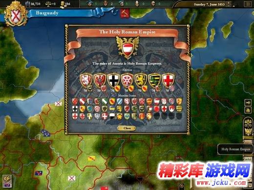 欧陆风云3神风游戏高清截图2