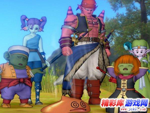 勇者斗恶龙10游戏高清截图3