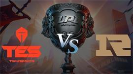 2019LPL夏季赛季后赛TES vs RNG第三局视频回放 TES放手一搏扳回一城