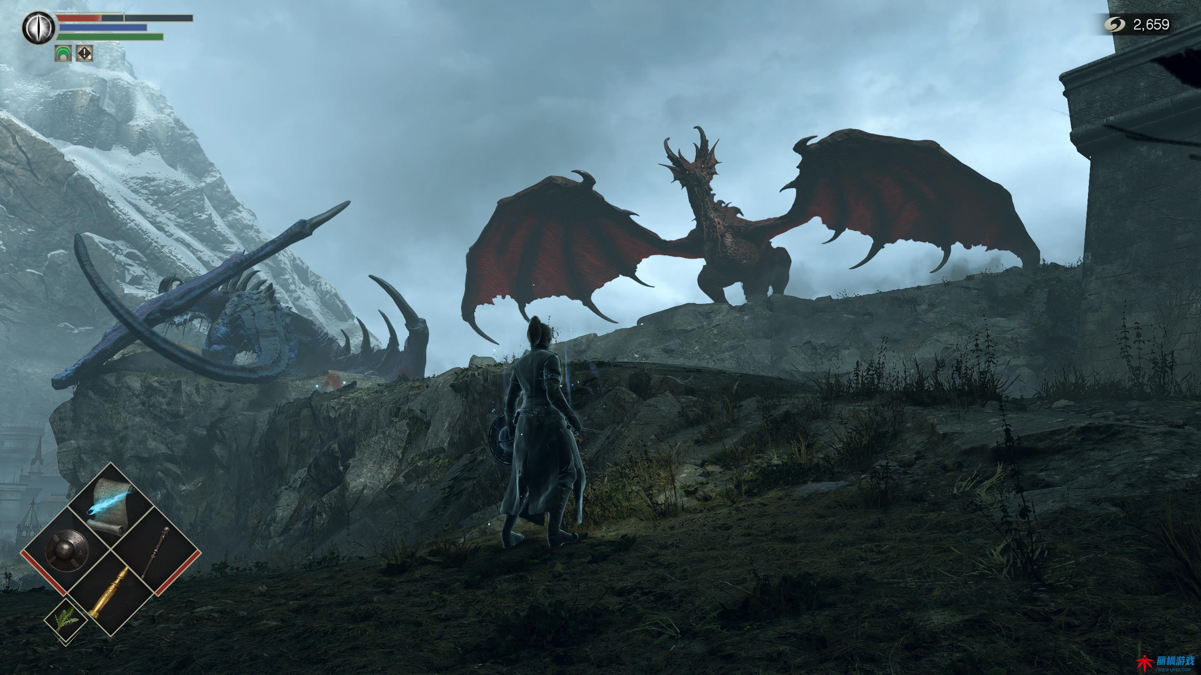 Demon's Souls:红龙、蓝龙