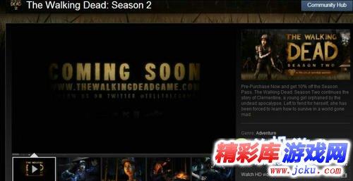 《行尸走肉:第二季》游戏截图