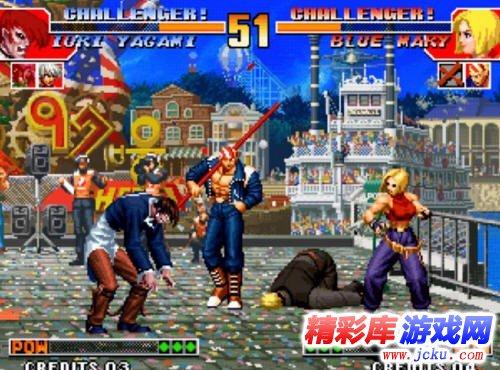 拳皇97风云再起游戏高清截图1