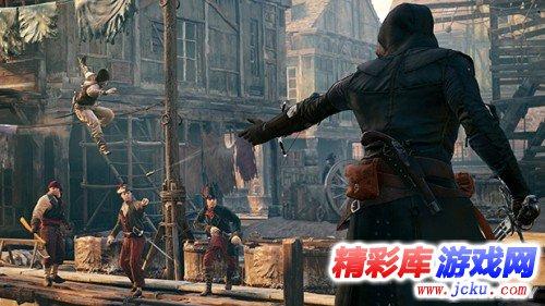 幻影刃酷炫宣传《刺客信条:大革命》新演示游戏高清截图3
