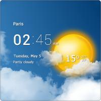 透明时钟天气安卓版